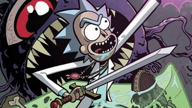 Rick and Morty | HQ coloca dupla em jornada envolvendo Dungeons & Dragons