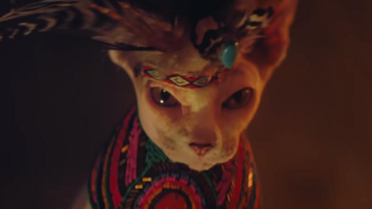 Square Enix recria trailer de Shadow of the Tomb Raider com gatos e cachorros