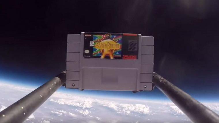 Estudante manda cartucho de Super Nintendo para o espaço e ele continua funcionando