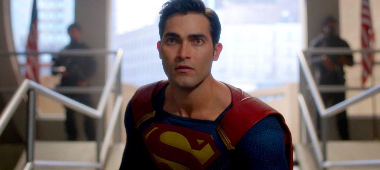 Superman e Lois Lane aparecem em foto do crossover de séries da DC