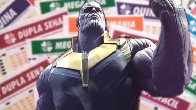 Vingadores tem mais chances de vencer Thanos do que você tem de ganhar na loteria