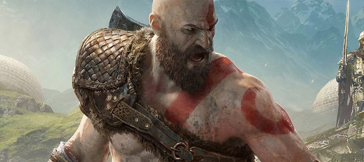 Arte conceitual de God of War mostra Kratos no Egito