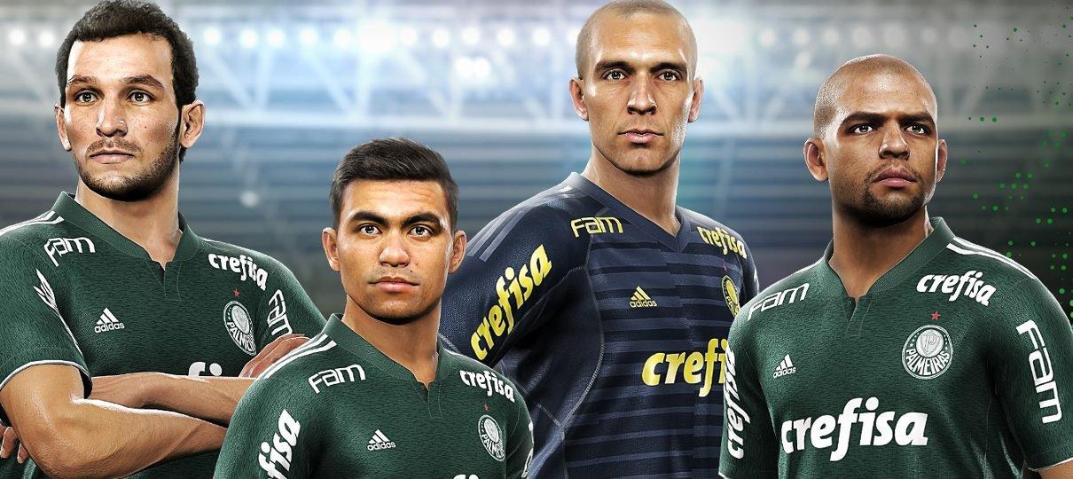 Konami anuncia licenciamento exclusivo com Campeonato Brasileiro para o PES 2019