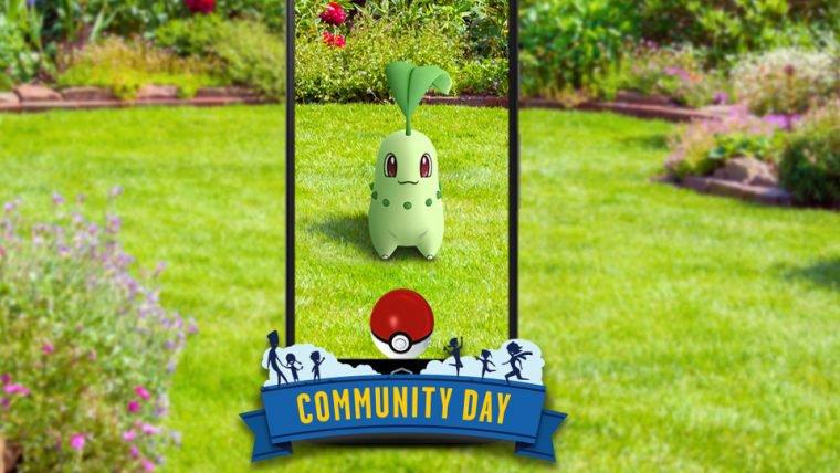Pokémon GO | Chikorita estrelará o Dia Comunitário de setembro