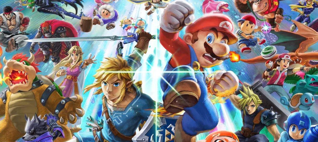 Super Smash Bros. Ultimate terá edição limitada com controle do GameCube