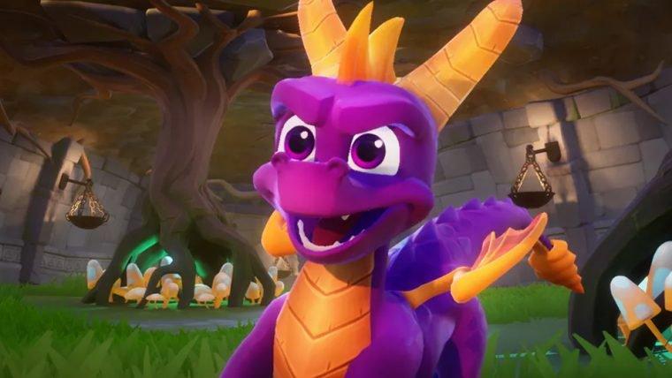 Spyro Reignited Trilogy será adiado em dois meses