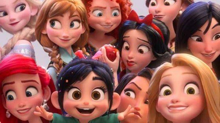 Nova visual das princesas da Disney em Wi-Fi Ralph é revelado