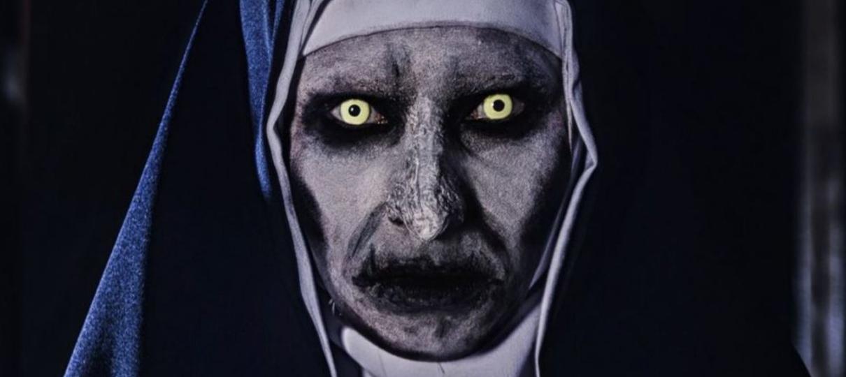 Descubra a face do mal no novo teaser de A Freira