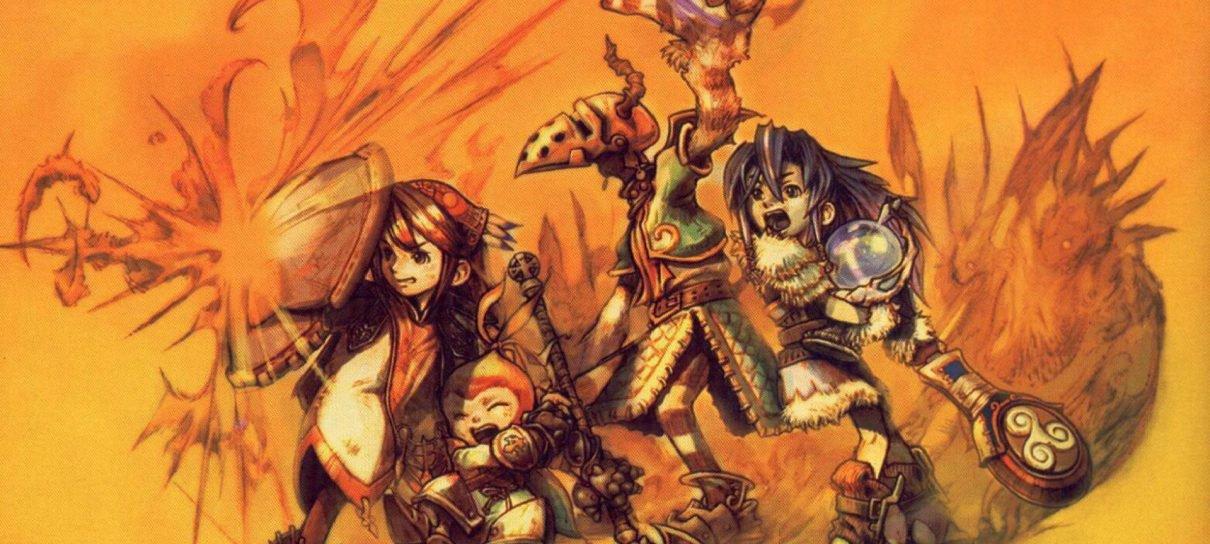 Final Fantasy Crystal Chronicles vai ganhar versão remasterizada para PS4 e Switch