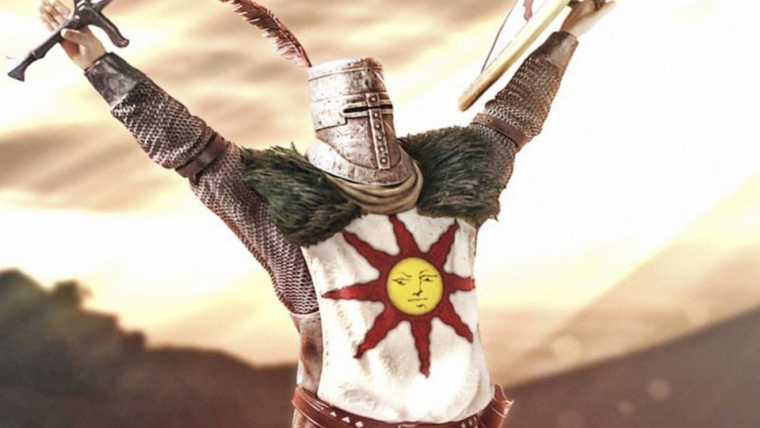 Vazamento indica que Fortnite ganhará emote da pose de Solaire of Astora, de Dark Souls
