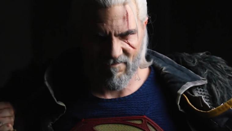Vídeo mistura Superman e Geralt para brincar com Henry Cavill na série de The Witcher