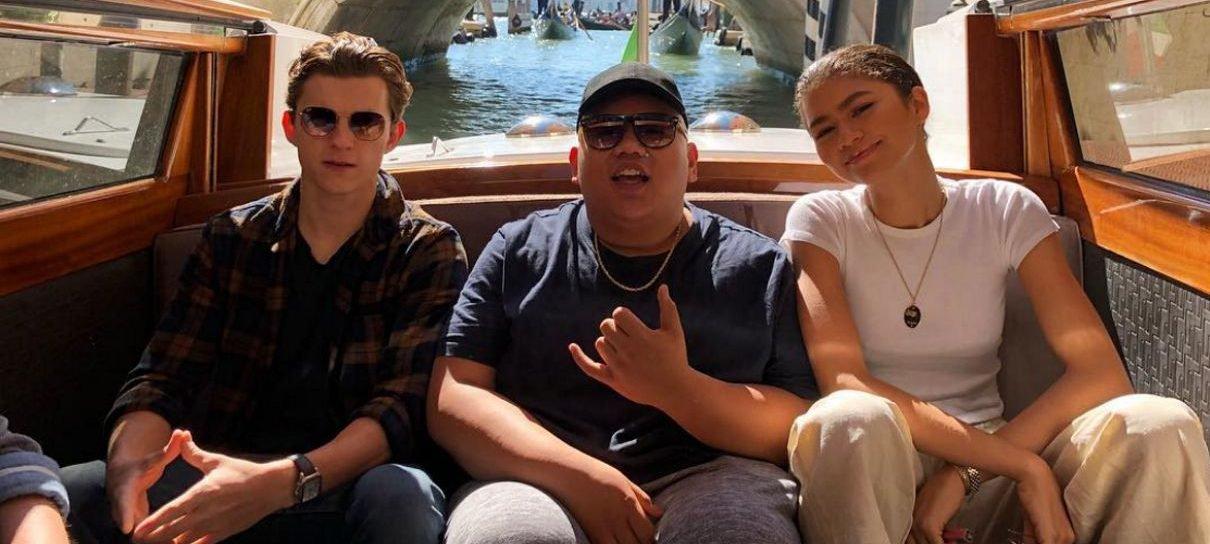 Homem-Aranha: Longe de Casa | Tom Holland posta foto dos bastidores em Veneza