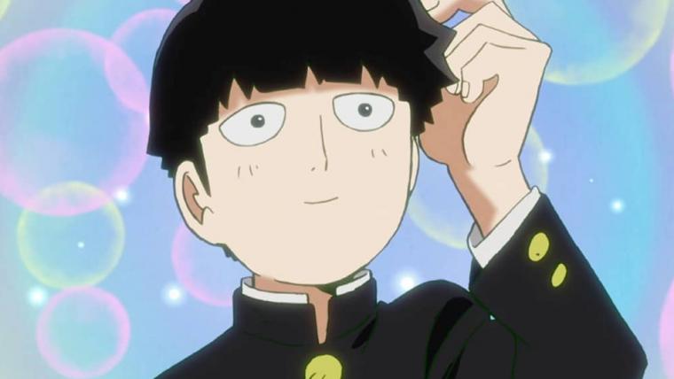 Mob, Ritsu e coelhos aparecem em imagem da 2ª temporada do anime de Mob Psycho 100