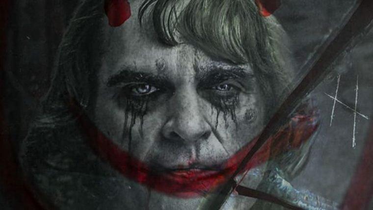 Arte de fã imagina Joaquin Phoenix depois de assumir a alcunha de Coringa