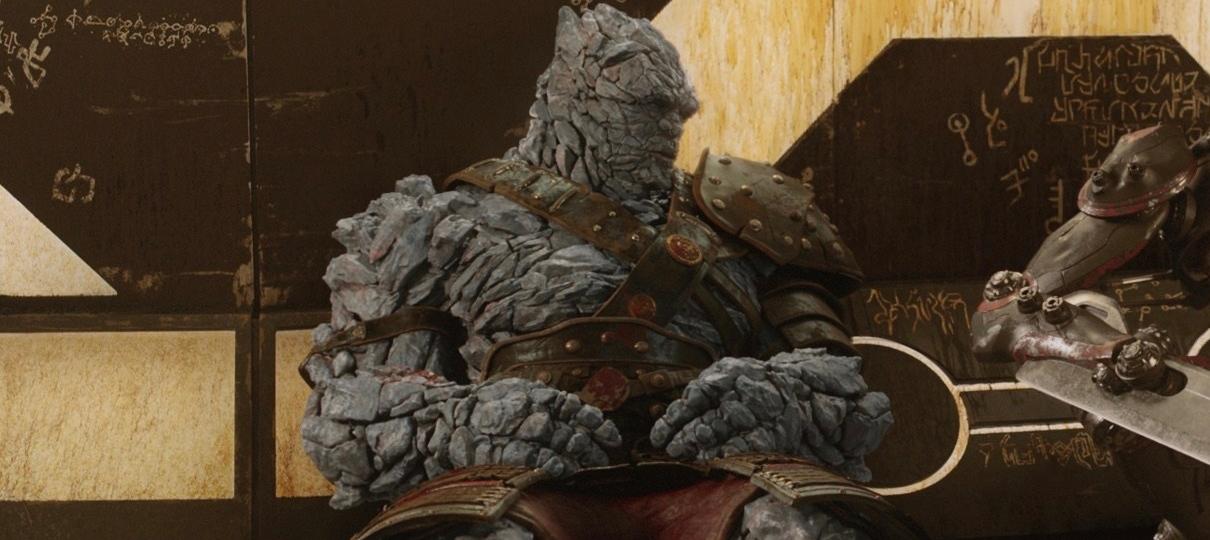 Korg em Vingadores 4? Foto dos bastidores gera especulação de aparição do personagem