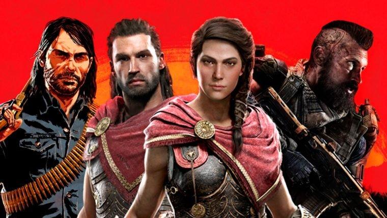 RDR 2, Assassin's Creed e mais: confira os lançamentos de jogos de outubro!