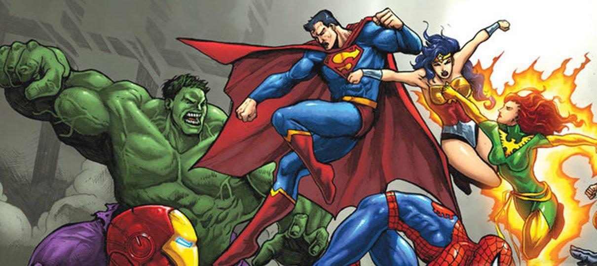 Livro sobre embate Marvel vs. DC será lançado no Brasil