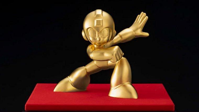 Este Mega Man de ouro pode ser seu por