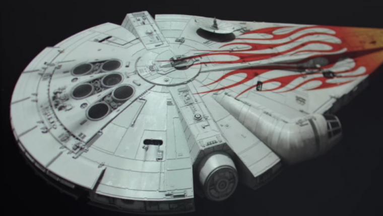 Designers de Han Solo falam sobre nova versão da Millenium Falcom