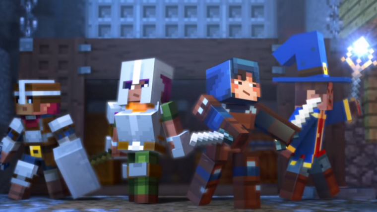 Mojang anuncia Minecraft: Dungeons, novo jogo previsto para 2019
