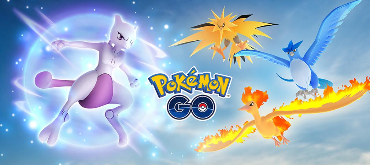 Pokémon GO | Mewtwo estará disponível em raides normais
