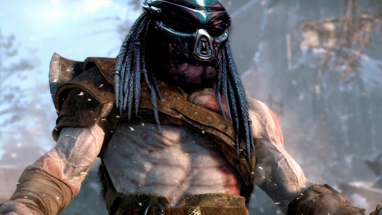 Ator que interpreta o Predador usou God of War como inspiração