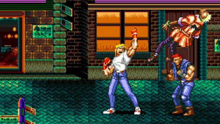 Streets of Rage 2 ganha versão mobile gratuita no Sega Forever