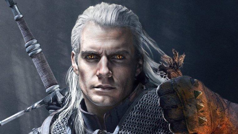 Nova arte de fã imagina Henry Cavill como Geralt em The Witcher