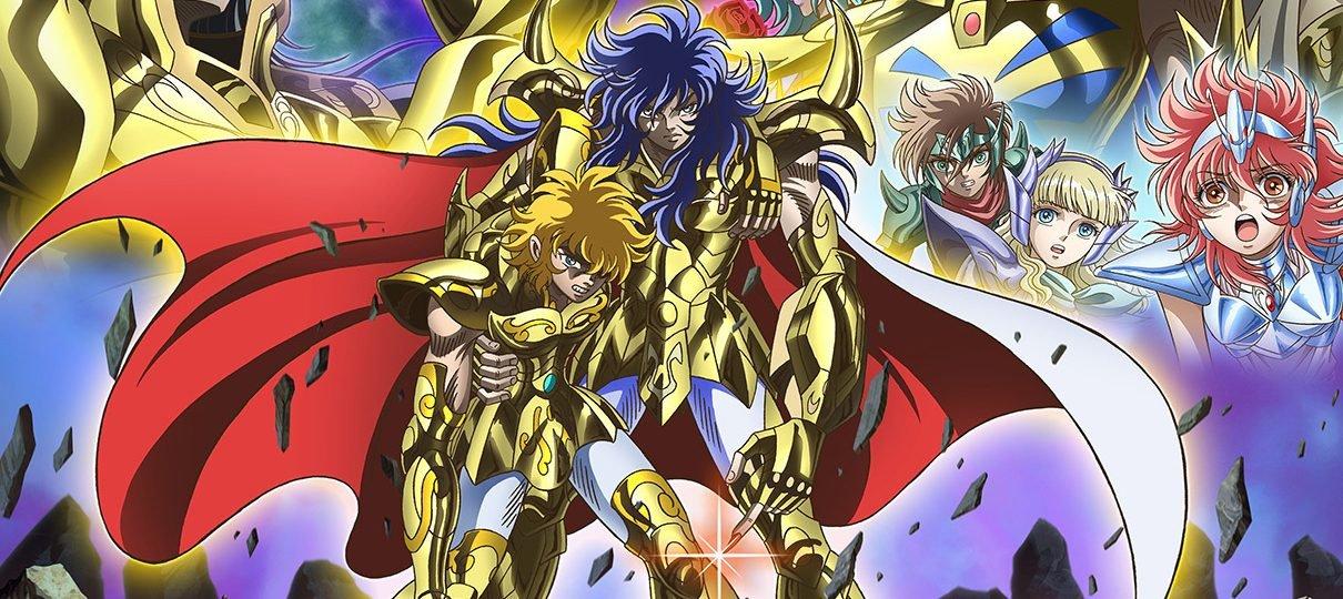Cavaleiros do Zodíaco | Saintia Shô confirma vozes originais dos Cavaleiros de Ouro