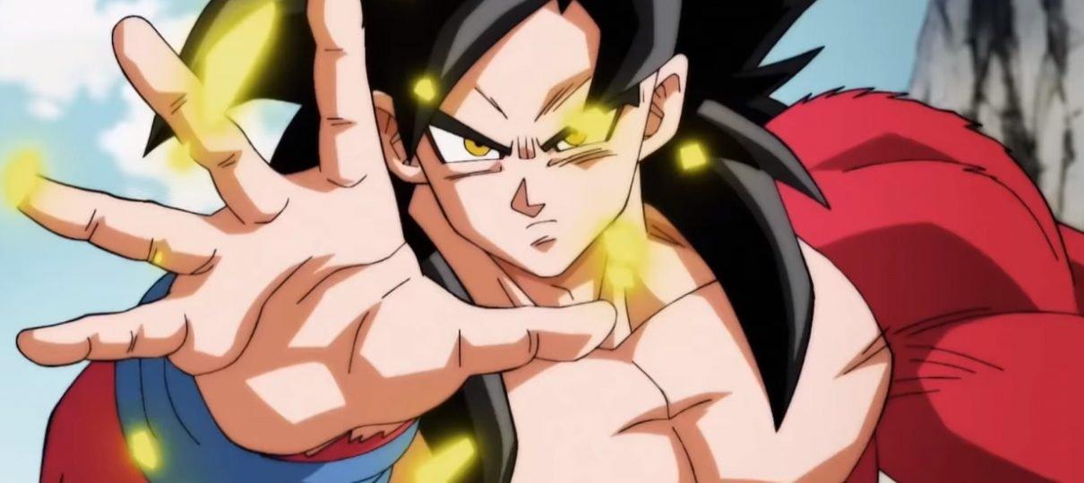 Vegetto Super Saiyajin 4 estará no episódio 5 de Super Dragon Ball Heroes