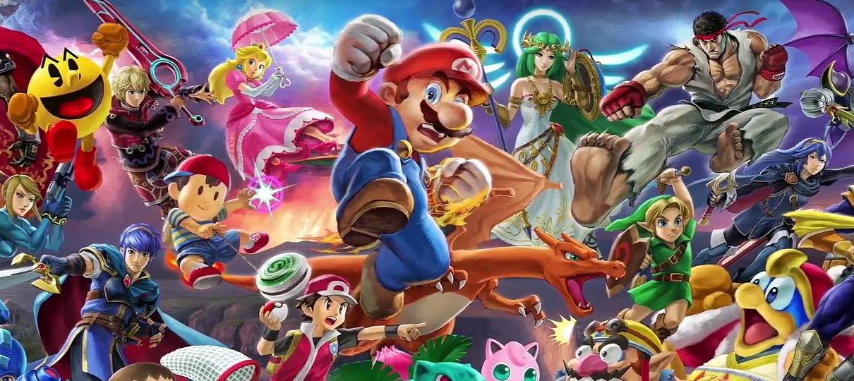 Nintendo atende desejo de fã com doença terminal de jogar Super Smash Bros. Ultimate