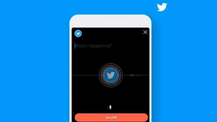 Twitter agora permite transmissão de áudio ao vivo
