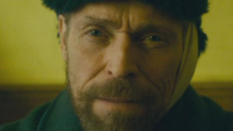 Willem Dafoe aparece sem a orelha em foto da cinebiografia de Van Gogh