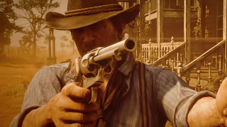 Red Dead Redemption 2 ganha novo vídeo de gameplay