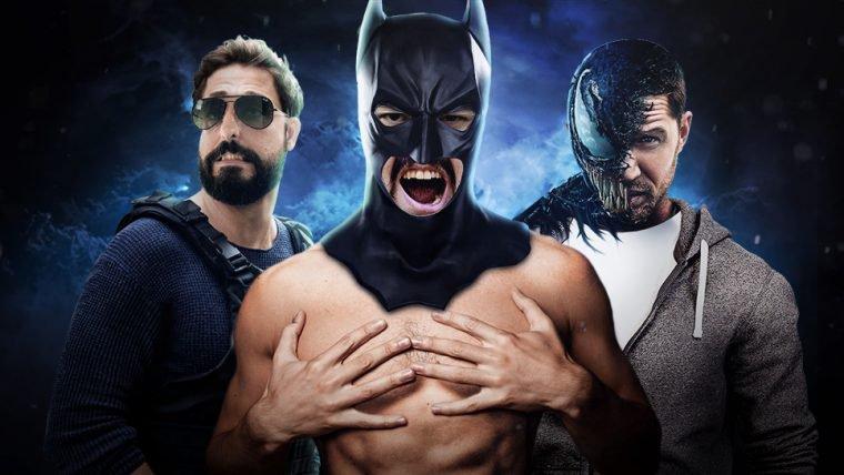 VAZOU NUDE: o pinto do Batman!