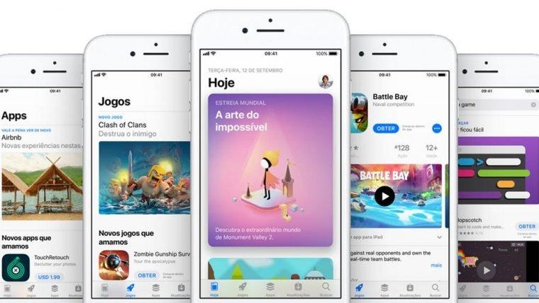 Apple vai reajustar preços da App Store no Brasil
