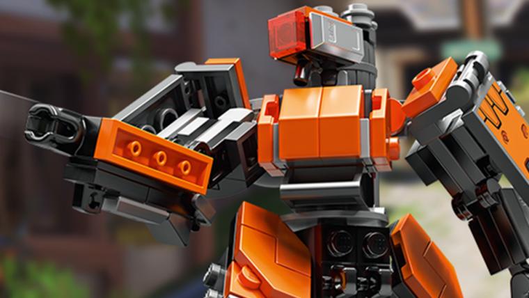 Overwatch   Bastion é o primeiro herói a virar LEGO!