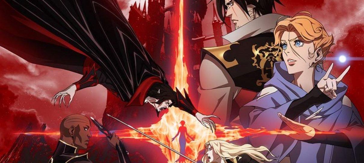 Castlevania | Alucard e Dracula se enfrentam em pôster da segunda temporada