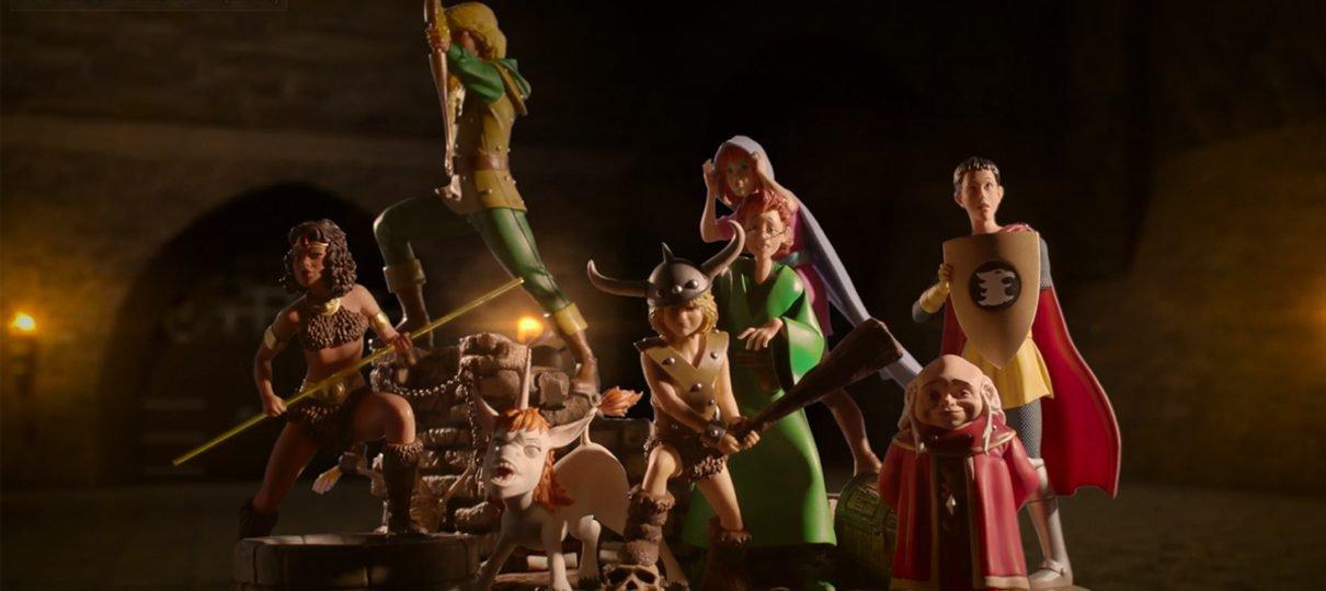 Caverna do Dragão | Iron Studios lança coleção de estatuetas da animação