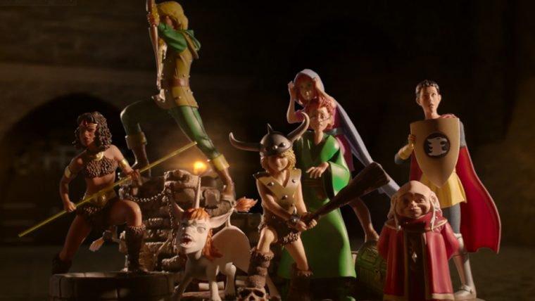 Caverna do Dragão   Iron Studios lança coleção de estatuetas da animação