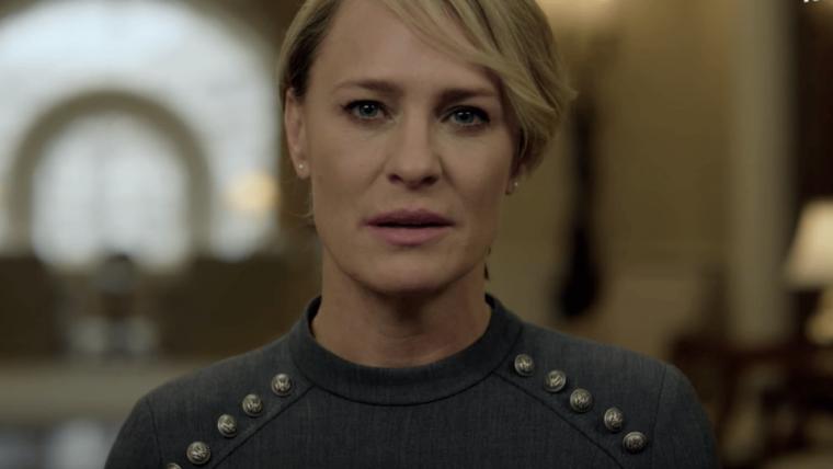 É a vez de Claire Underwood governar no novo trailer de House of Cards