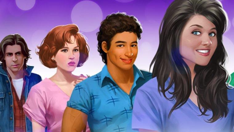 Jogo mobile permite que você interaja com personagens de Clube dos Cinco e outros filmes