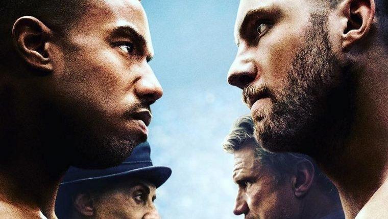 Creed II | Novo pôster coloca os rivais frente a frente
