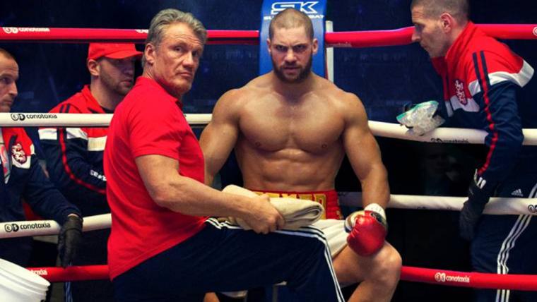 Ivan Drago treina seu filho em nova imagem de Creed II