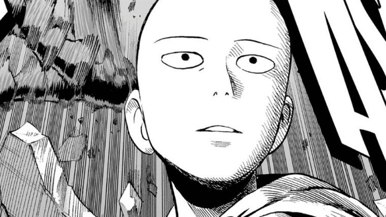 Criador do mangá de One Punch Man divulga arte de Saitama esnobando monstro gigante