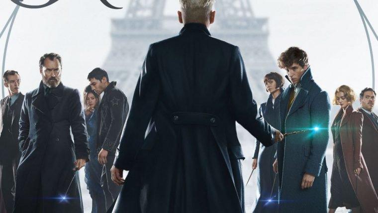 Animais Fantásticos: Os Crimes de Grindelwald | Elenco aparece reunido em novo pôster