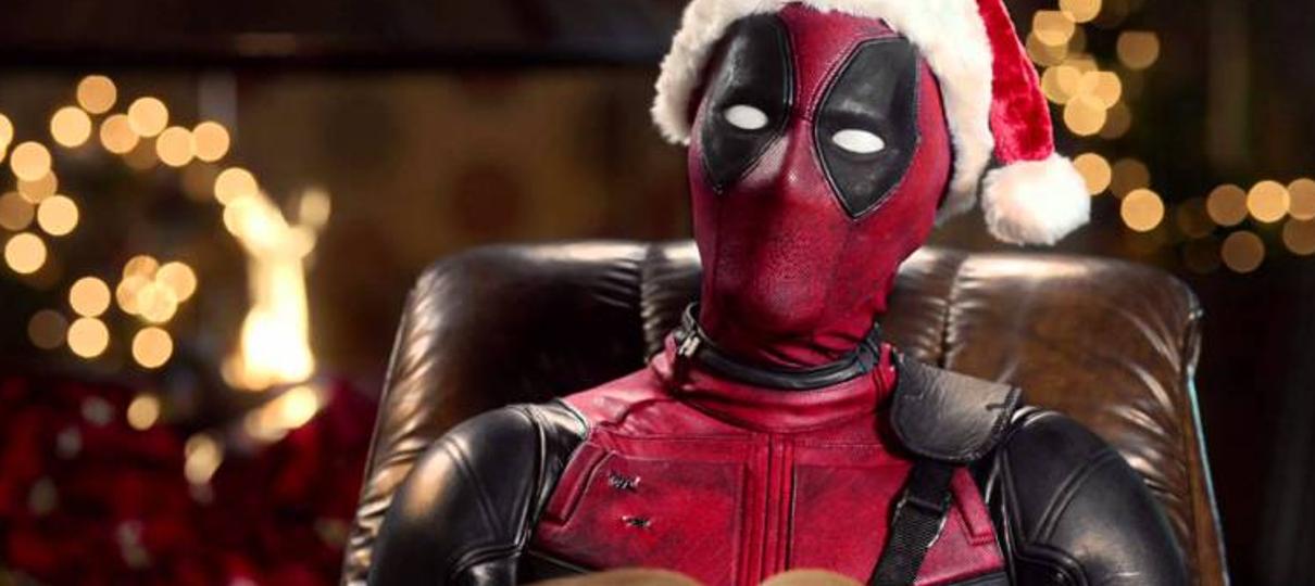 Filme natalino do Deadpool terá 15 minutos inéditos