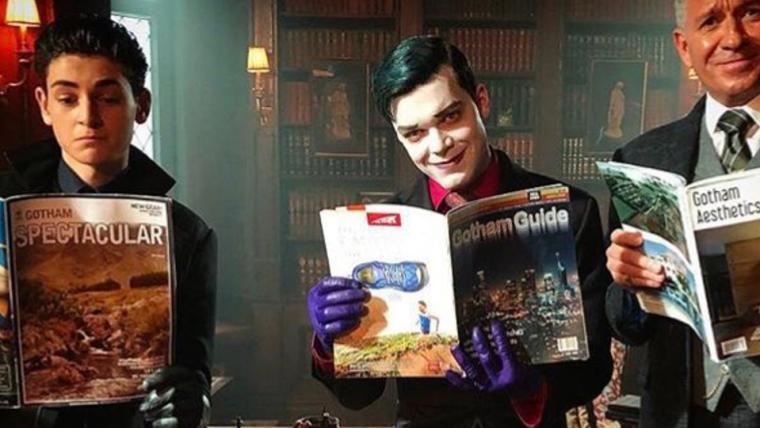 Bruce, Jeremiah e Alfred estão em nova foto de Gotham