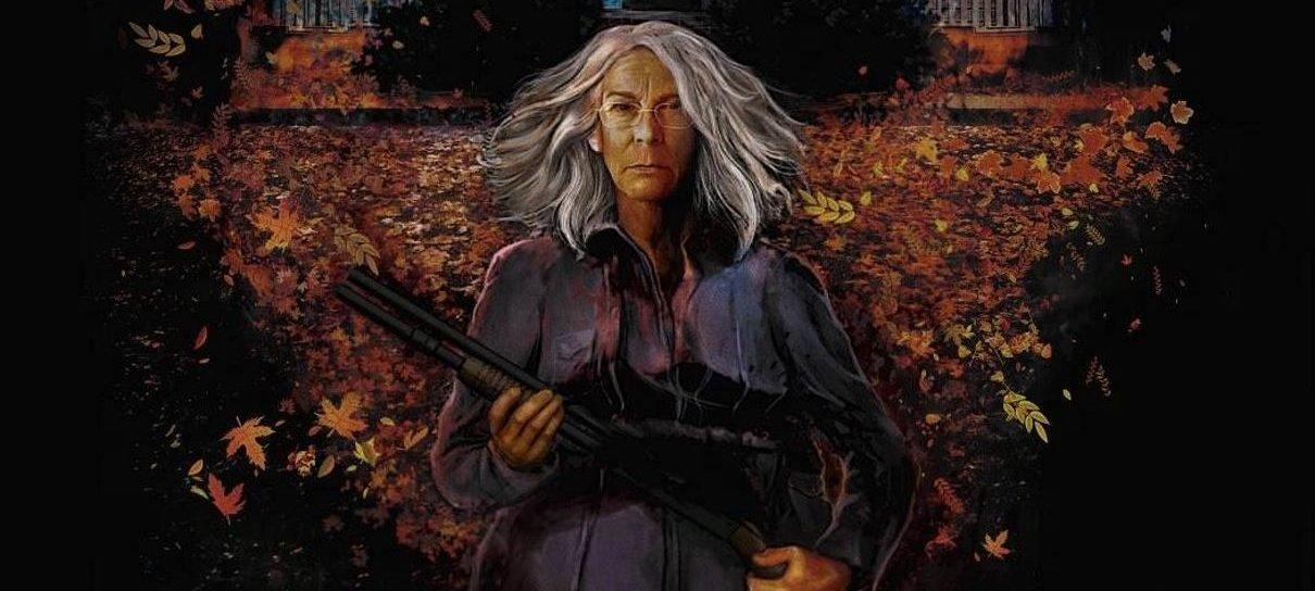 Halloween   Laurie está pronta para se defender em novo pôster