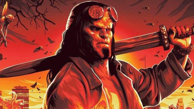Hellboy ganha arte demoníaca com muitos personagens na NYCC 2018
